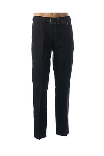 Pantalon casual noir LCDN pour homme