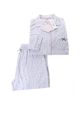 Pyjama gris CHRISTIAN CANE pour femme