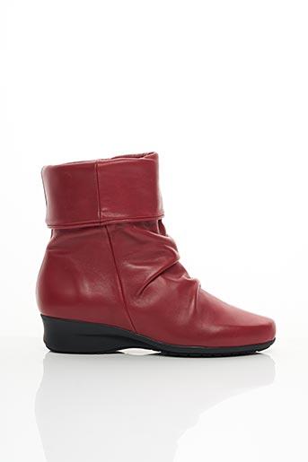 Bottines/Boots rouge FOLIE'S pour femme