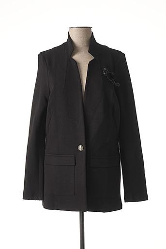 Veste chic / Blazer noir MISE AU GREEN pour femme