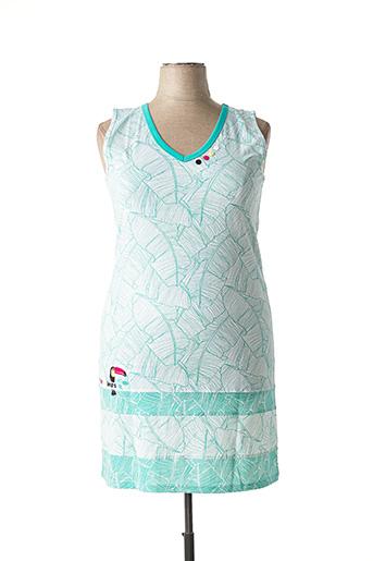 Chemise de nuit vert ROSE POMME pour femme