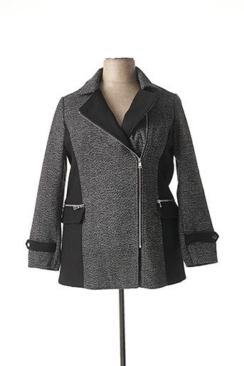 Manteau court noir MERI & ESCA pour femme