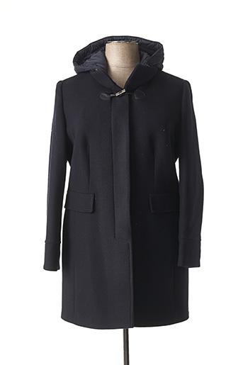 Manteau long bleu BARBARA LEBEK pour femme