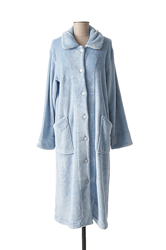 Robe de chambre bleu CHRISTIAN CANE pour femme