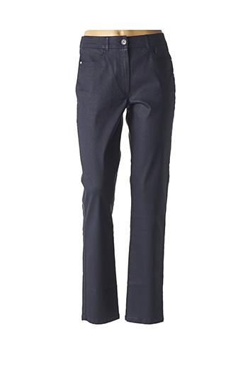 Jeans coupe droite bleu PAUSE CAFE pour femme