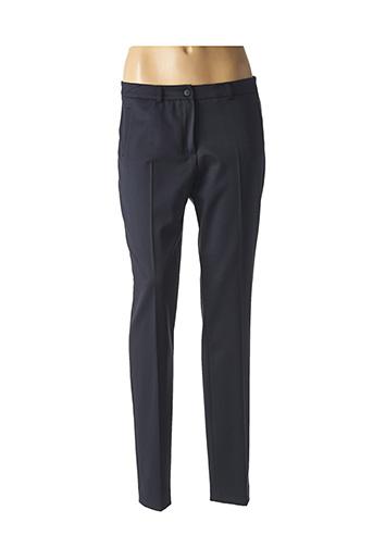Pantalon chic bleu TERRE DE FÉES pour femme