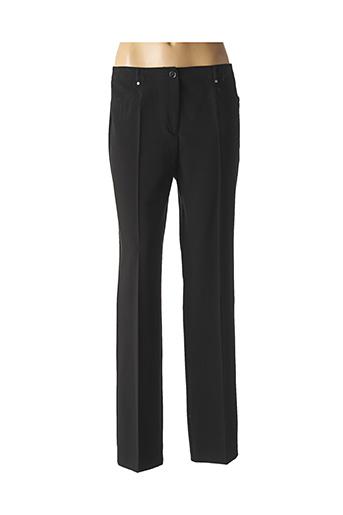 Pantalon chic noir PAUSE CAFE pour femme
