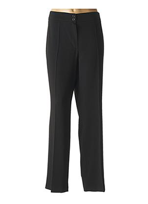 Pantalon chic noir LEBEK pour femme