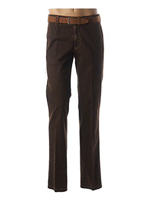Pantalon casual marron MEYER pour homme