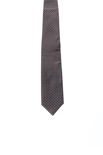 Cravate marron OLYMP pour homme