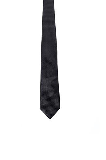 Cravate noir JEAN CHATEL pour homme