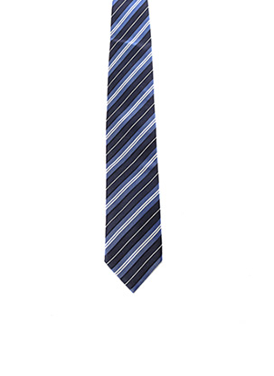 Cravate bleu JEAN CHATEL pour homme