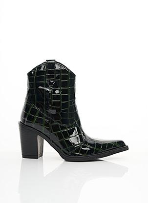 Bottines/Boots noir EMANUELE CRASTO pour femme