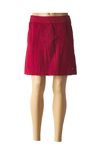 Jupe courte rouge AGATHE & LOUISE pour femme