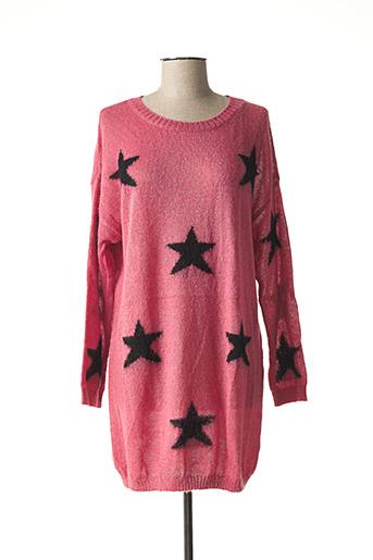 Robe pull rose L'ATELIER D'ANNA pour femme