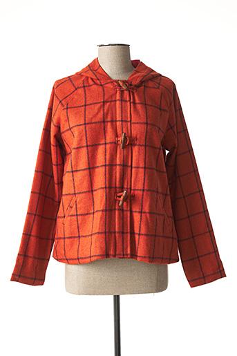 Veste casual orange AGATHE & LOUISE pour femme