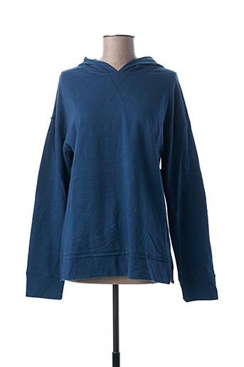 Sweat-shirt bleu AGATHE & LOUISE pour femme