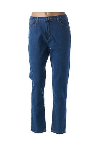 Jeans coupe slim bleu BEMULAN pour femme