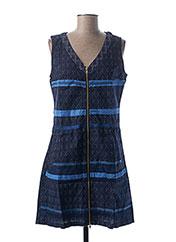 Robe mi-longue bleu L33 pour femme seconde vue