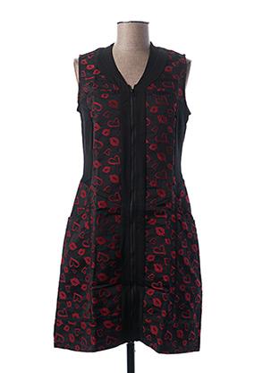 Robe mi-longue noir L33 pour femme