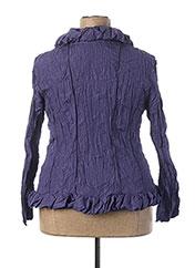 Veste chic / Blazer bleu L33 pour femme seconde vue