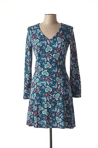 Robe courte bleu SURKANA pour femme