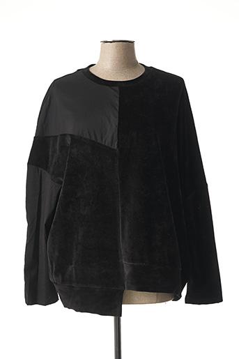 Sweat-shirt noir CREA CONCEPT pour femme