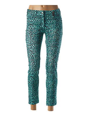 Pantalon 7/8 bleu SPORTALM pour femme