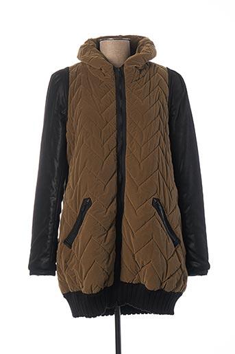Manteau long vert BEATE HEYMANN pour femme
