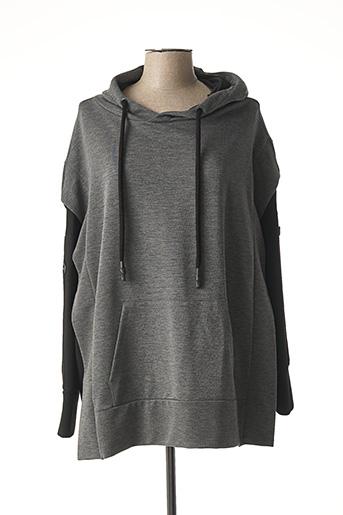 Sweat-shirt gris CREA CONCEPT pour femme