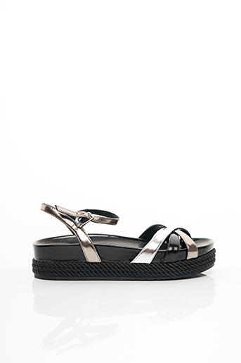 Sandales/Nu pieds noir LIU JO pour femme