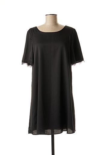 Robe courte noir CERISE BLUE pour femme
