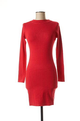 Robe pull rouge MOËWY pour femme