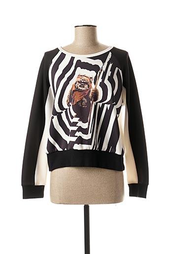 Sweat-shirt noir SOPHYLINE & CO pour femme