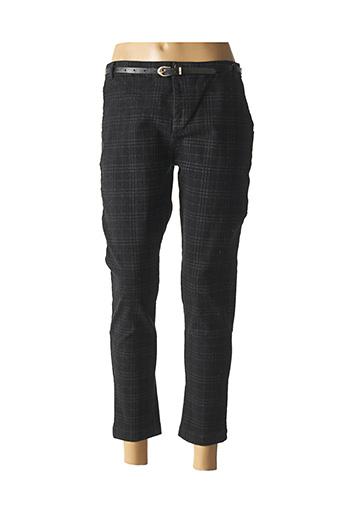 Pantalon 7/8 noir CHIC ETJEUNE pour femme