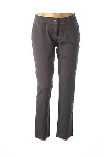 Pantalon 7/8 gris NAPAPIJRI pour femme