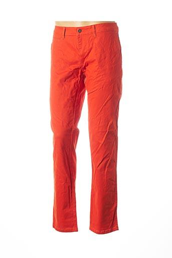 Pantalon casual orange NAPAPIJRI pour homme