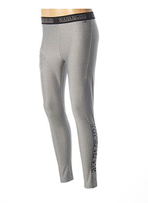 Legging gris NAPAPIJRI pour homme