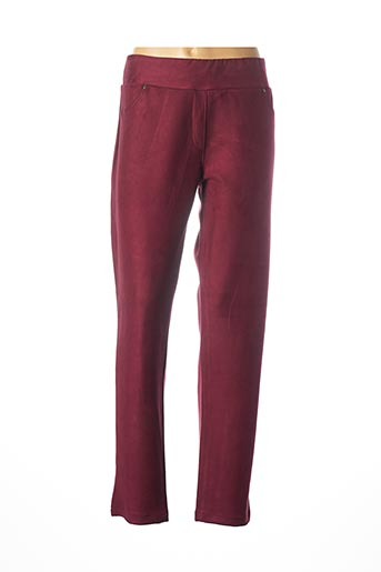 Pantalon casual rouge DOLCEZZA pour femme