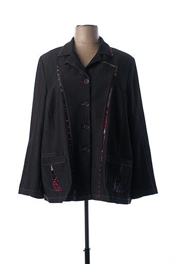 Veste chic / Blazer noir FRANCE RIVOIRE pour femme