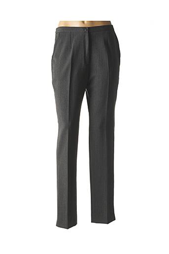 Pantalon chic gris FRANCE RIVOIRE pour femme