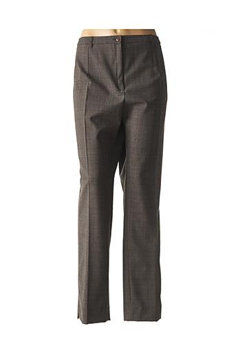 Pantalon chic marron GUY DUBOUIS pour femme