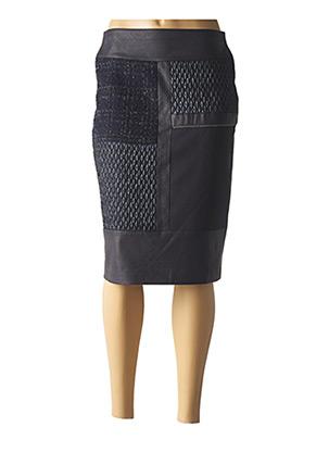 Jupe mi-longue bleu MERI & ESCA pour femme