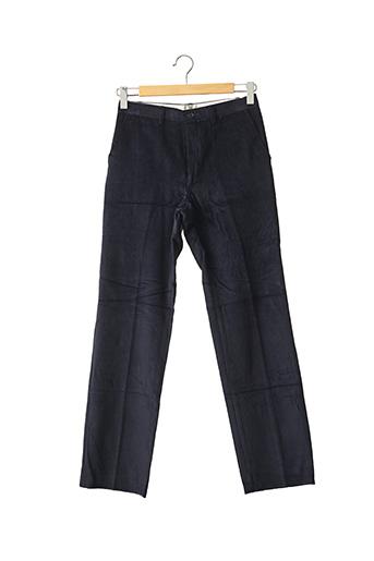 Pantalon casual bleu DOLMEN pour homme