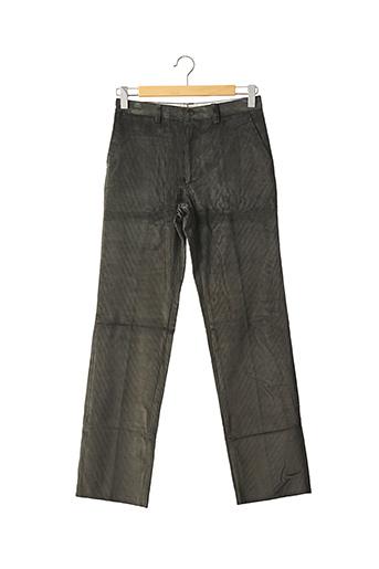 Pantalon casual vert DOLMEN pour homme