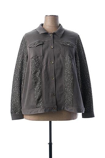 Veste casual gris MERI & ESCA pour femme
