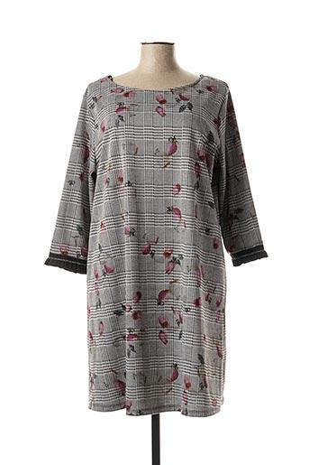 Robe courte gris AN II VITO pour femme