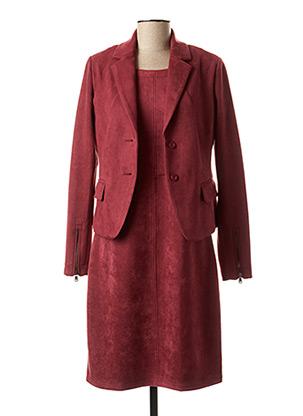 Veste/robe rouge MALVIN pour femme