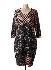 Robe mi-longue noir EROKE pour femme seconde vue