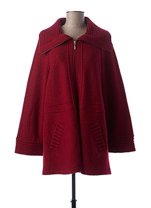 Manteau court rouge WEINBERG pour femme